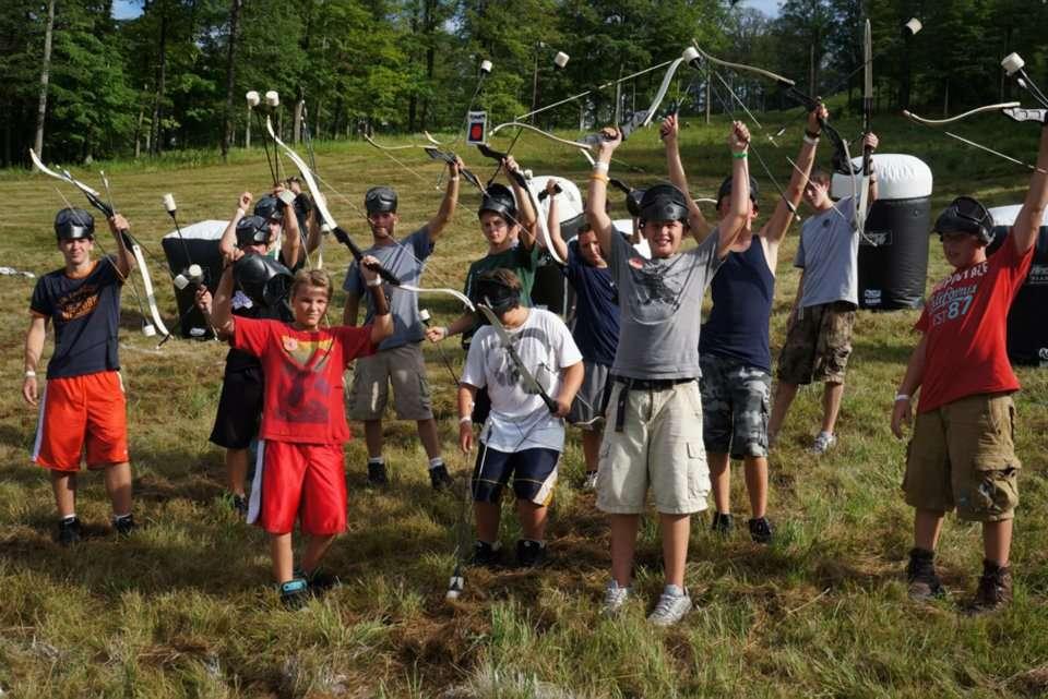archery warz party